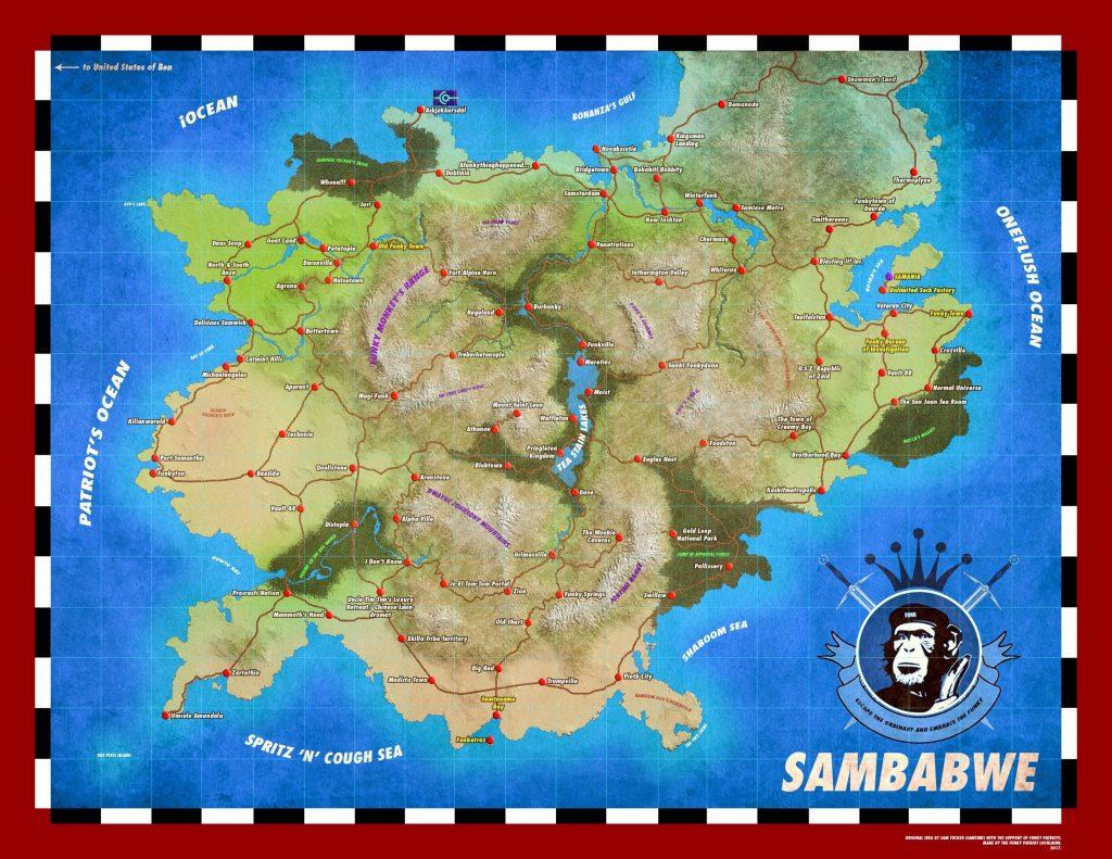 SAMBABWE MAP