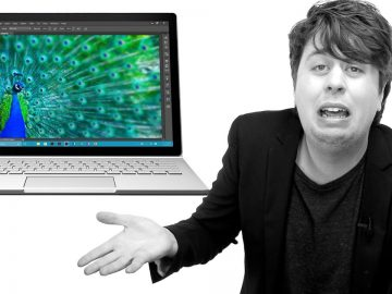 Apple Fanboy in Crisis over Microsoft Surface Book