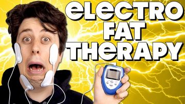 Attaching Electrodes to My Face to Lose Weight