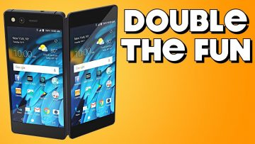 Behold the Dual-Screen Phone! – ZTE Axon M