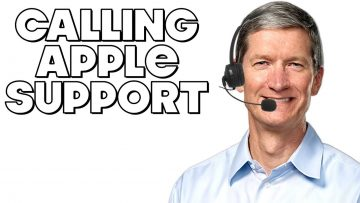 Calling Apple Support Be Like…