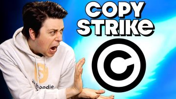 Copyright Striking Other YouTubers