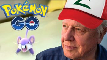 David Attenborough Plays Pokemon Go