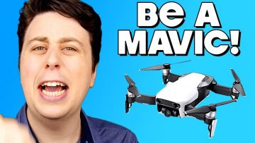 "DJI Mavic Air PARODY – ""Be a Mavic!"""