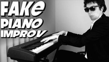 Fake Piano Skills Improv – FUNKY MONDAYS