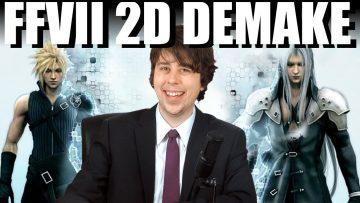 FINAL FANTASY VII GAME GETTING 2D REMAKE?!!