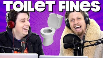 Fined for Going to the Toilet! – PODCAST THURSDAY