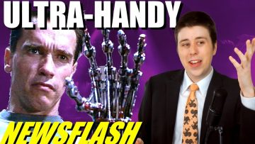 First Prosthetic Hand That Can Feel!! – NEWSFLASH