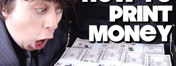 How To Print Money!!