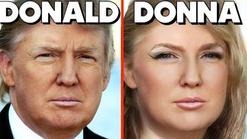 If Donald Trump Was a Lady – FACEAPP