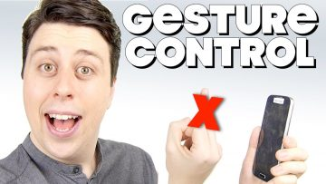 If Phones Had Gesture Controls – LG G8 PARODY