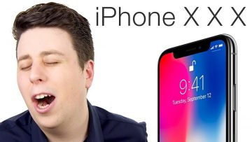 "IPHONE X PARODY – ""The iPhone XXX!"""