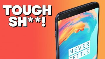 "OnePlus 5T PARODY – ""It's Tough Sh#%!"""