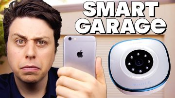 Open Your Garage With Your Phone?! – Asante Smart Garage Camera