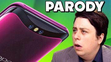 "Oppo Find X PARODY – ""Up Periscope!"""