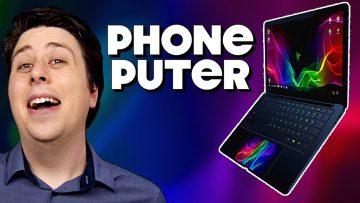 "Razer Project Linda PARODY – ""Razer PhonePUTER!"""
