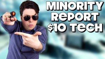 Real Life Minority Report Tech for $10?
