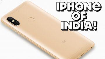 "Redmi Note 5 Pro PARODY – ""iPhone of India"""