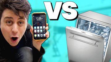 Rugged Phone VS Dishwasher