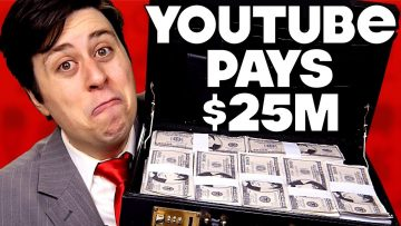 YouTube Pays News $25M Ransom – PARODY