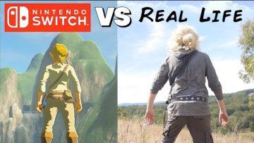 Zelda: Breath of the Wild in Real Life