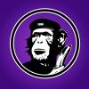 FUNKY PATRIOT Badge Purple