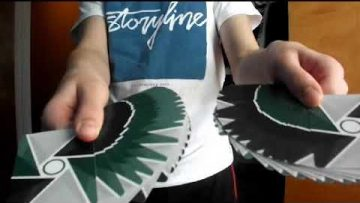 Cardistry with the virts deck.