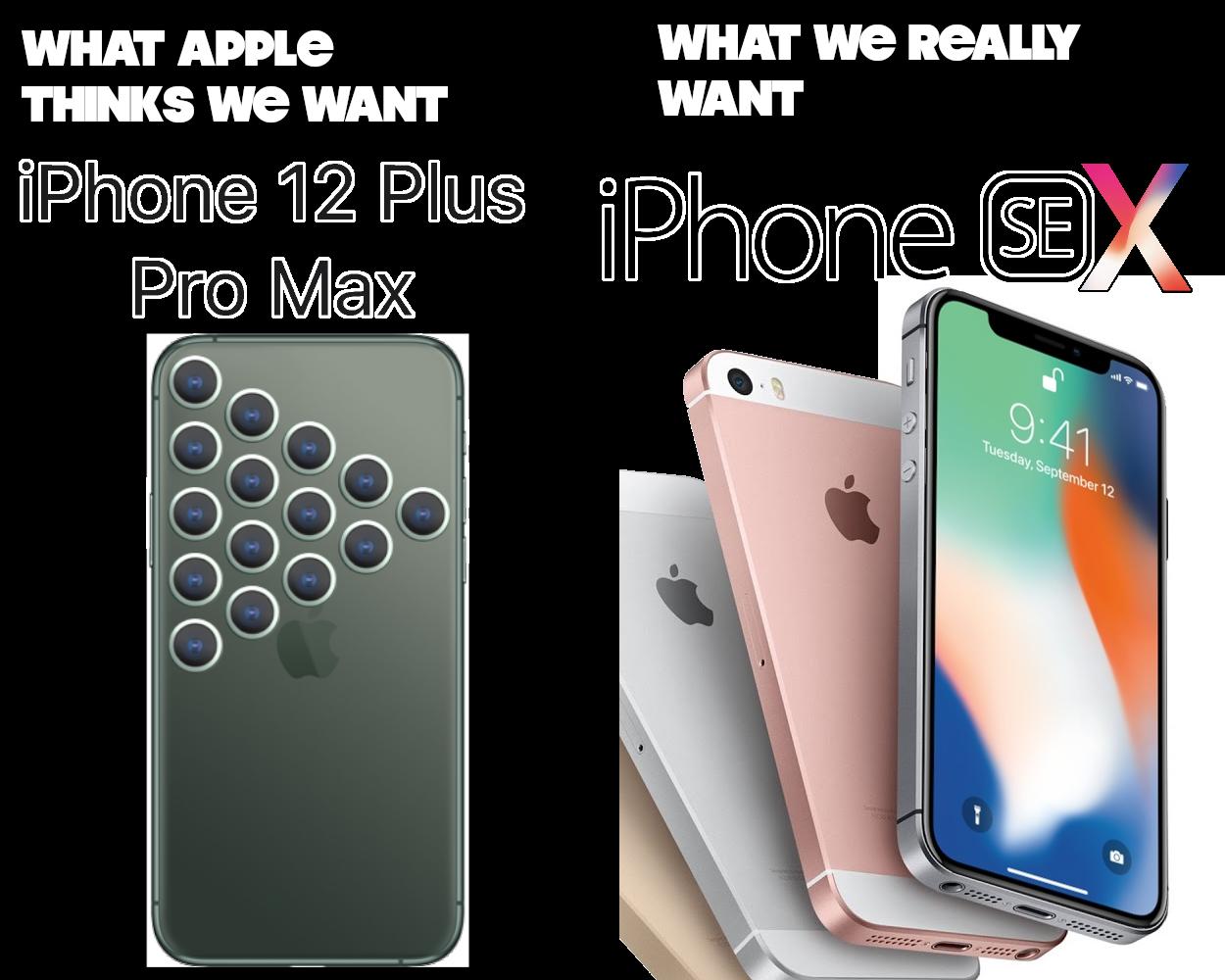 iphone 12 vs SE X3