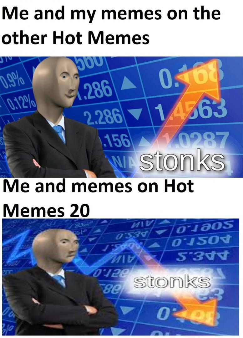 Stonks Guy Meme Talks About My Meme